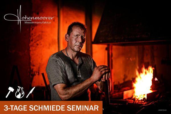3-Tage Schmiede Seminar - Dein Damastmesser entsteht | Schmiedekurs